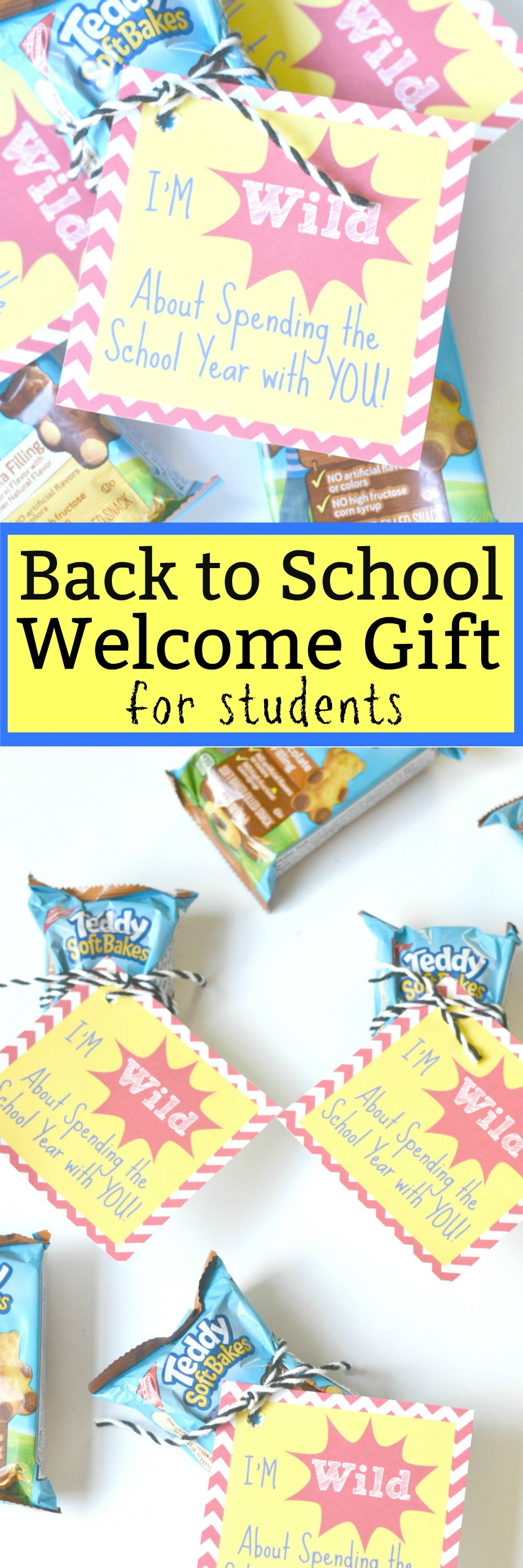 Back to School Welcome Gift for Students