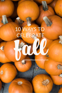 10 Ways to Celebrate Fall