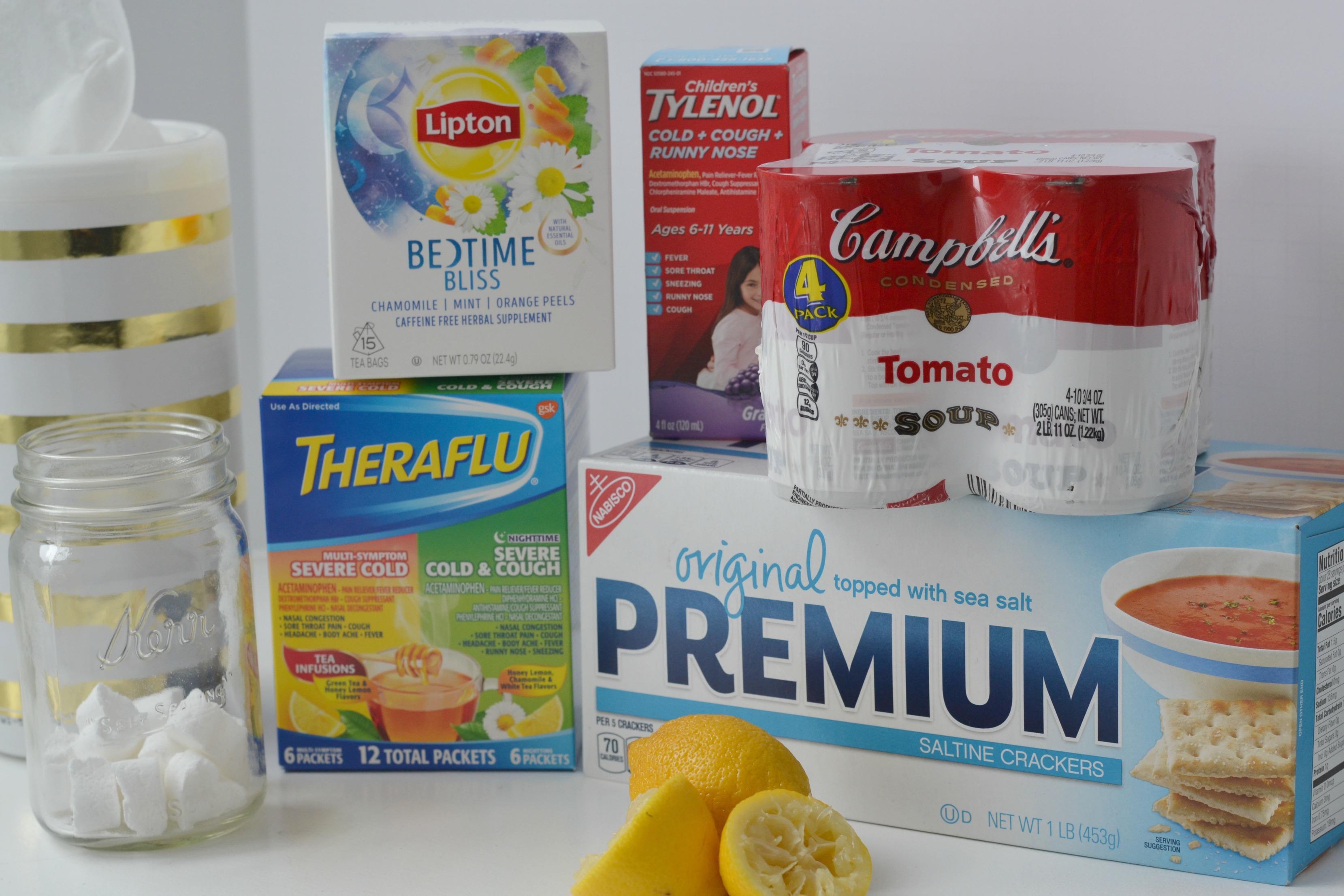 Get Well Kit Supplies from Kroger