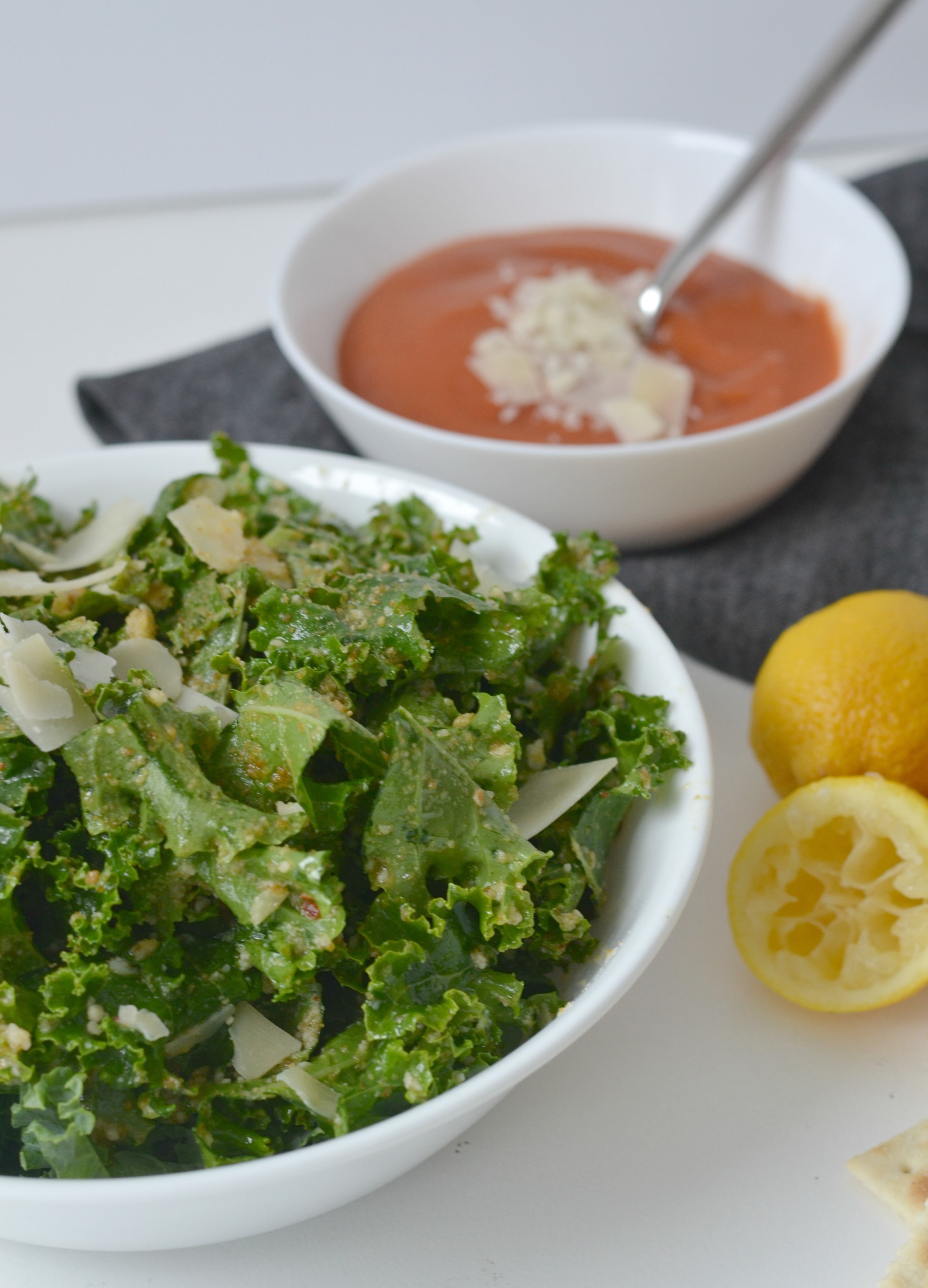 Kale and Parmesan Salad
