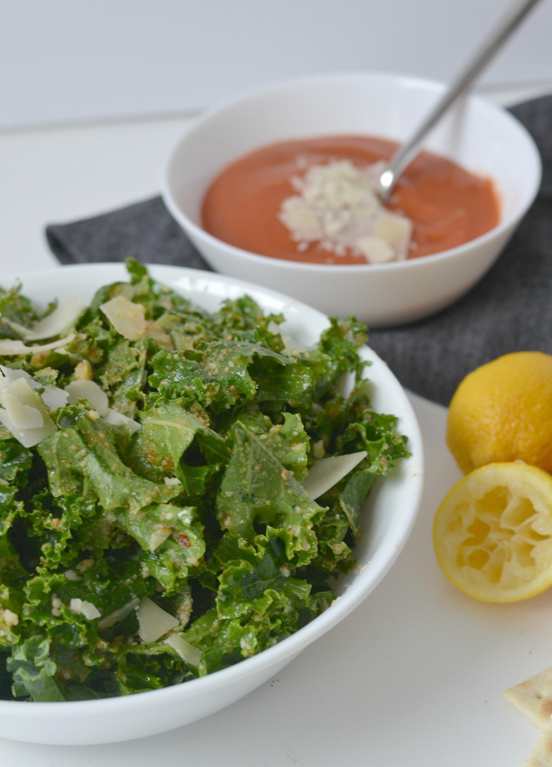 Kale and Parmesan Salad