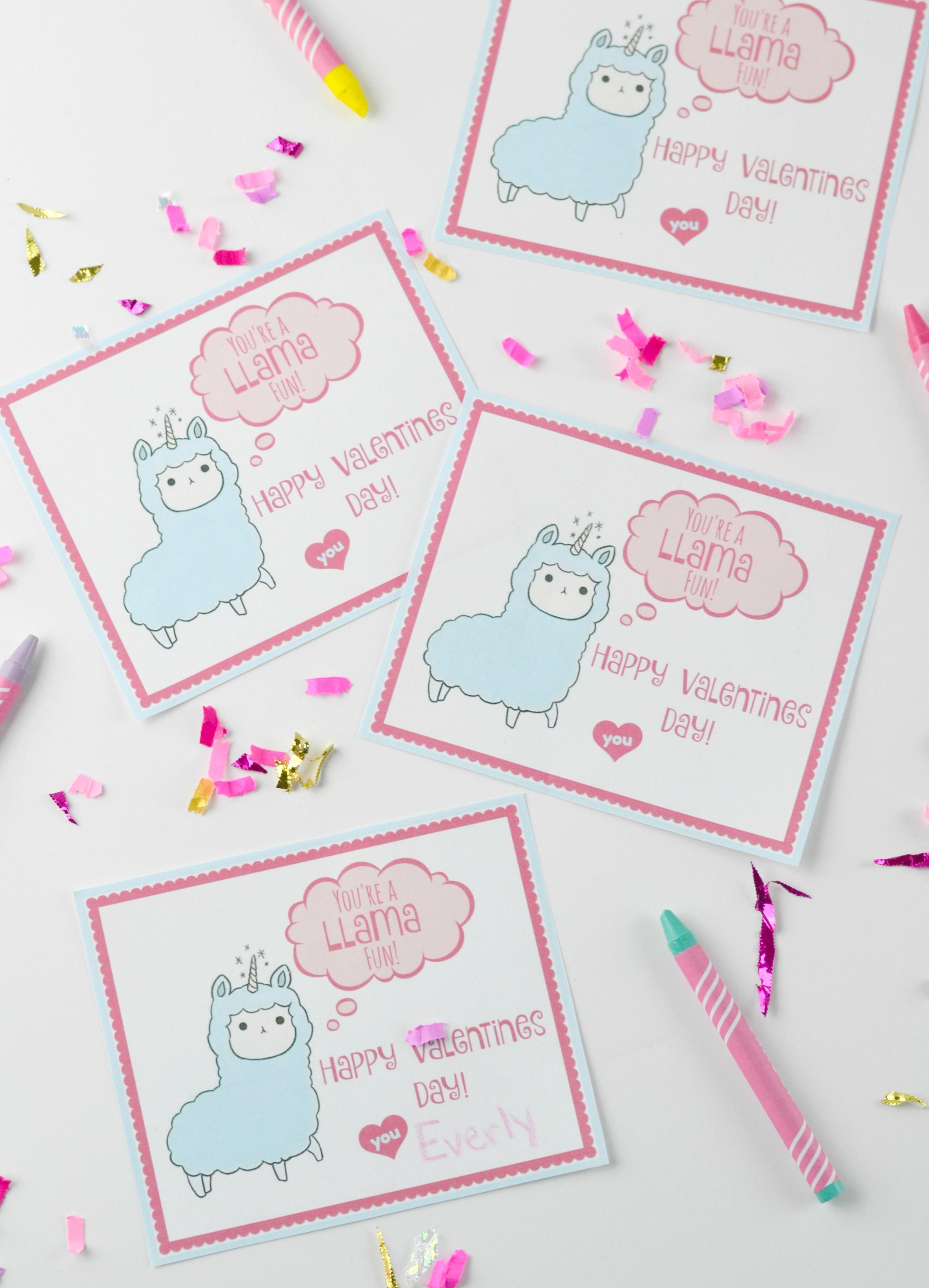 Valentines Day Card For Kids With Free Printable Houston Mommy And