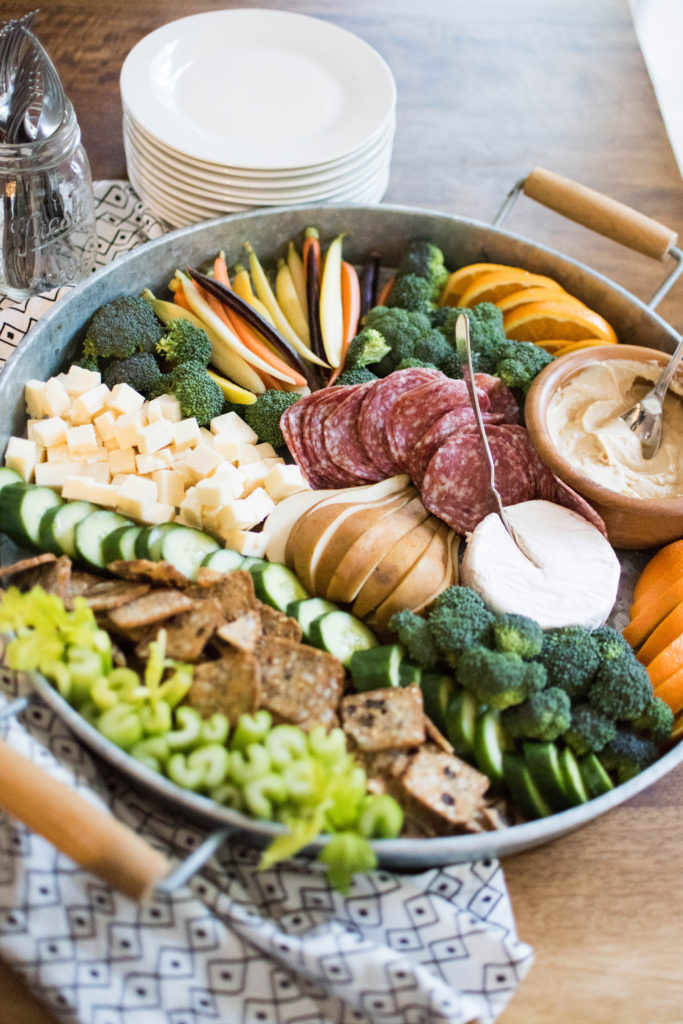 How to make a crudite snack platter for parties