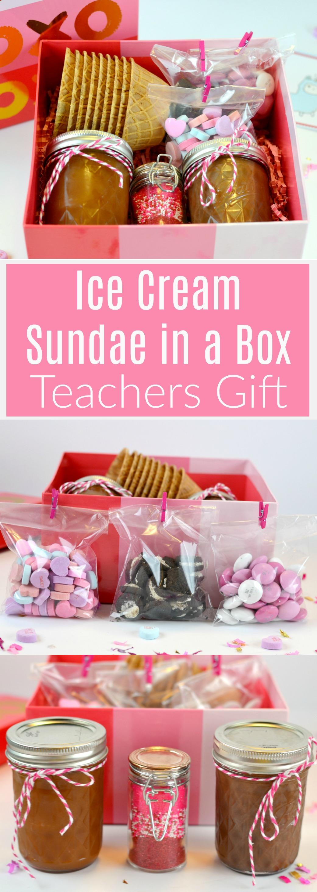 Ice Cream Sundae in a Box Teachers Gift