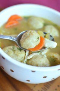 Classic Chicken Matzo Ball Soup