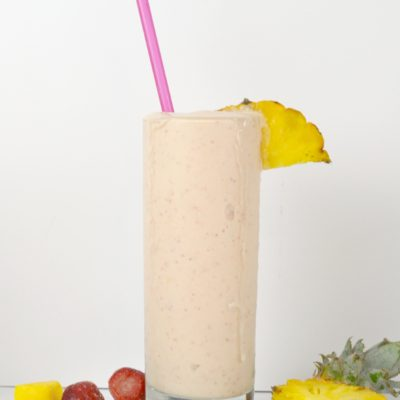 Tropical Sunrise Breakfast Smoothie