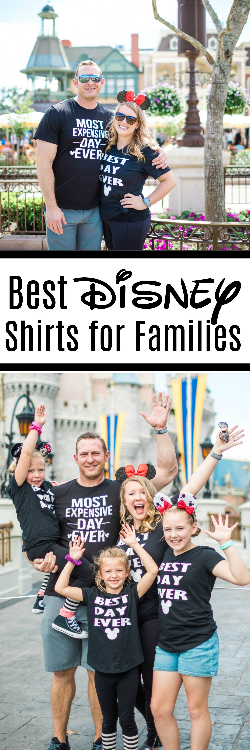 Best Disney Shirts for Families- *Free file for Silhouette and Cricut
