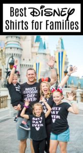 DIY Disney Shirt for Families with Cut File