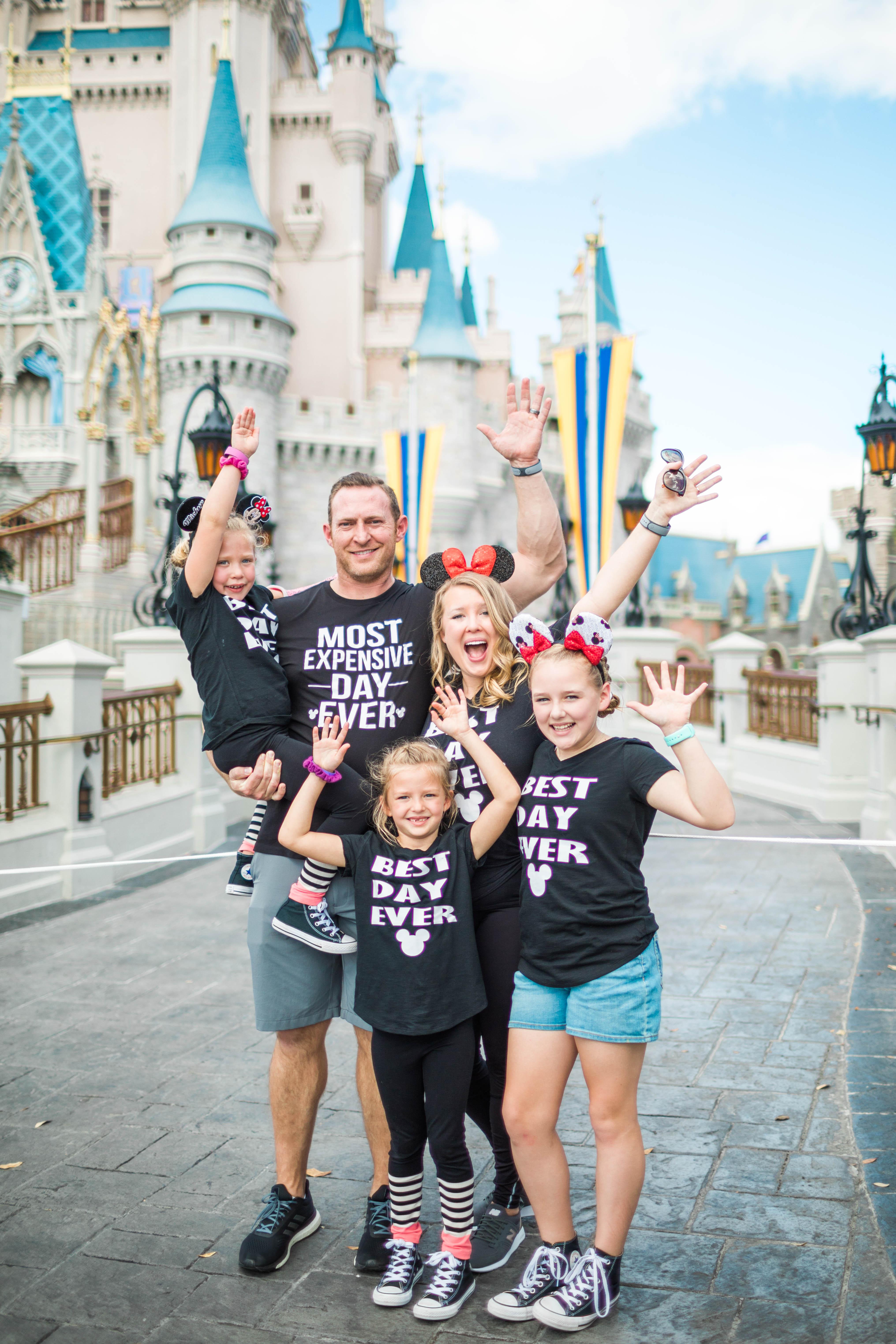 DIY Disney Shirts for Families