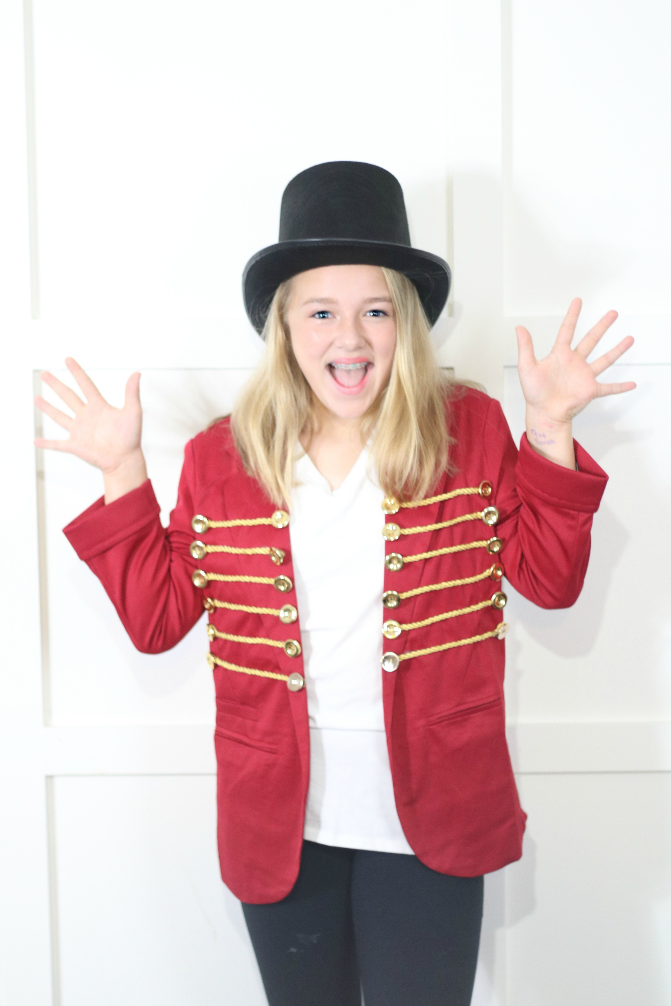 Diy Greatest Showman Halloween Costume Houston Mommy And Lifestyle