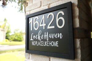 5 Reason Why I LOVE the Cricut Maker + DIY Address Sign