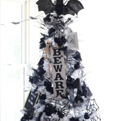 Halloween Christmas Tree Decoration Ideas