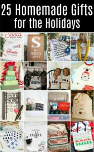 25 Homemade Gifts for the Holidays