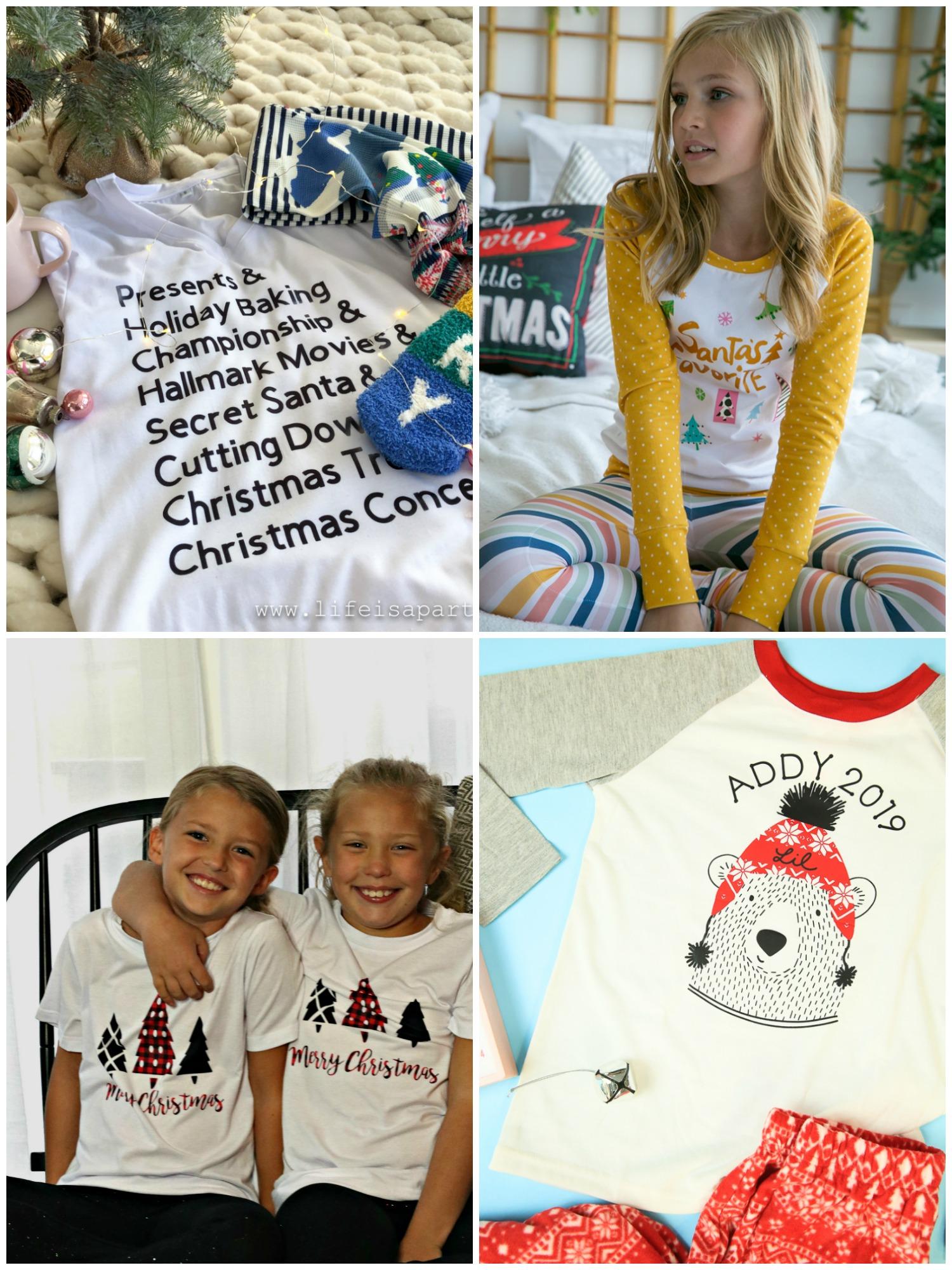 DIY Matching Family Pajamas with the Cricut Maker
