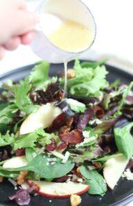 Heirloom Apple Salad with Apple Cider Vinaigrette