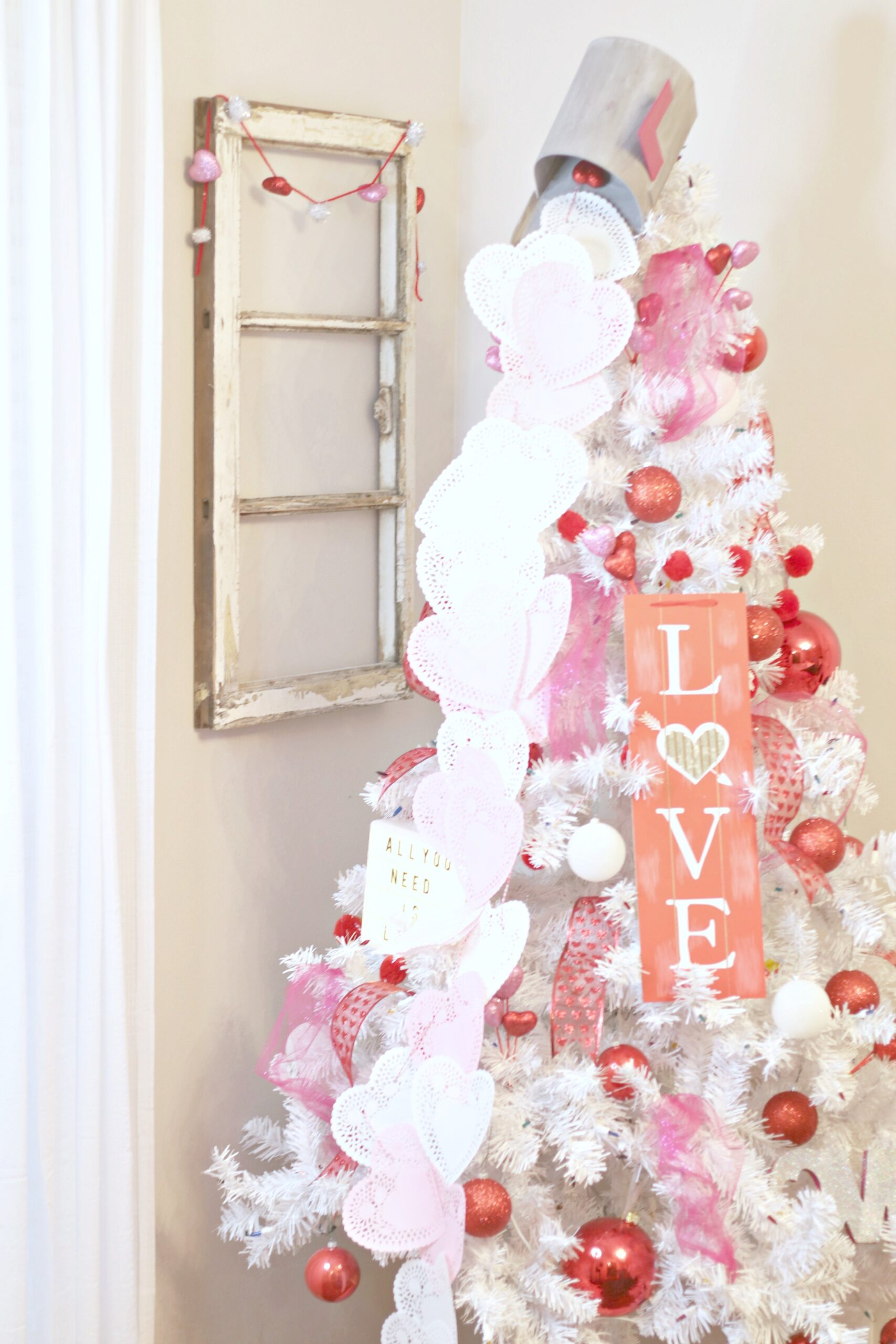 Valentine Holiday Tree Decorations