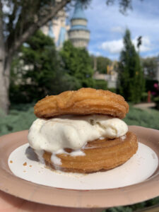 Copycat Disney Churro Ice Cream Sandwich